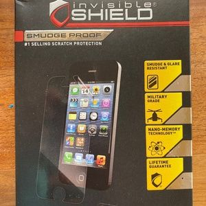 ZAGG invisible shield for iPhone 5/5S
